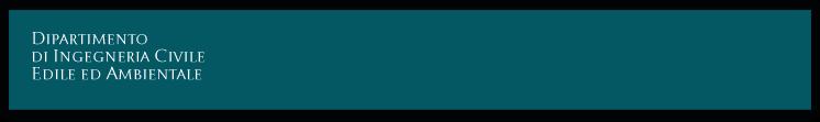 DICEA - Dipartimento di Ingegneria Civile Edile e Ambientale